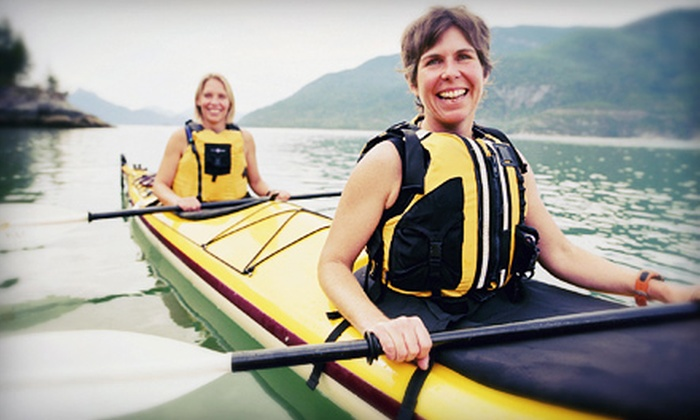 Mountain Valley Guides - Mountain Valley Guides: $59 for a Two-Hour Kayak Adventure for Two from Mountain Valley Guides ($120 Value)