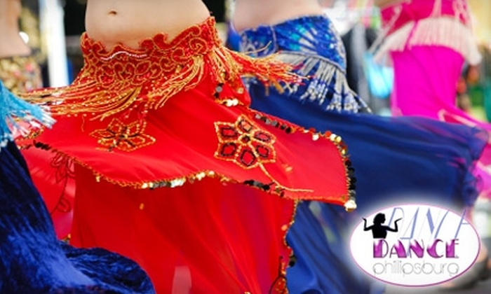 Dance Phillipsburg - Phillipsburg: $30 for Four Beginner Belly-Dancing Classes and a Free Hip Scarf at Dance Phillipsburg ($90 Value)