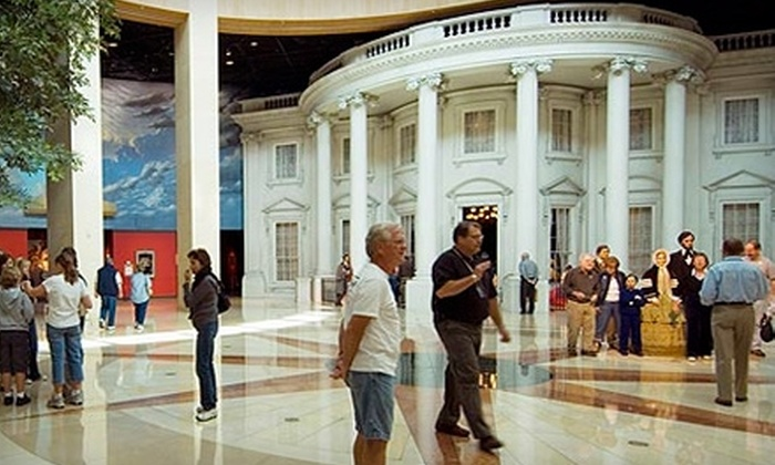 Abraham Lincoln Presidential Museum - Downtown Springfield: Admission to the Abraham Lincoln Presidential Museum in Springfield (Up to $12 Value). Two Options Available.