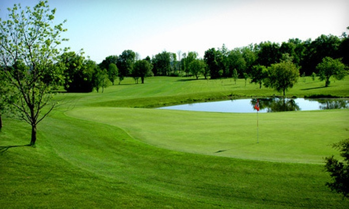 Rustic Glen Golf Club - Saline: 18-Hole Round of Golf for Two or Four with Cart Rental at Rustic Glen Golf Club in Saline (Up to 58% Off)