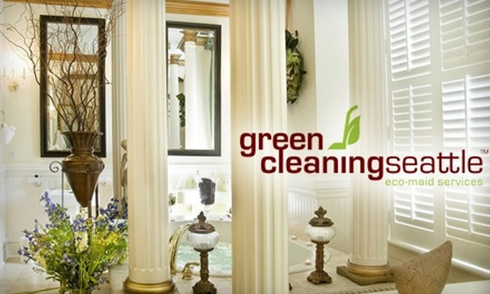 Green Cleaning Seattle - Eco-Maid Services - Seattle: $50 for Two-and-a-Half Hours of Eco-Friendly House-Cleaning Service from Green Cleaning Seattle - Eco-Maid Services ($100 Value)