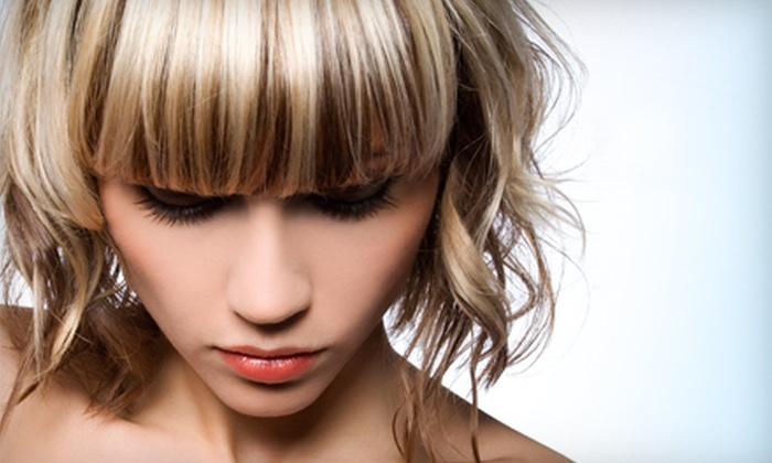 Brenda at Lorenco's Salon & Day Spa - Fair Heights: $75 for a Haircut, Highlights, Blow-Dry, and Style from Brenda at Lorenco's Salon & Day Spa ($150 Value)
