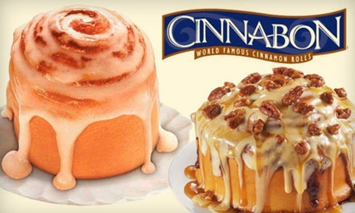 Cinnabon - Multiple Locations: $10 for $20 Worth of Baked Goods and More at Cinnabon