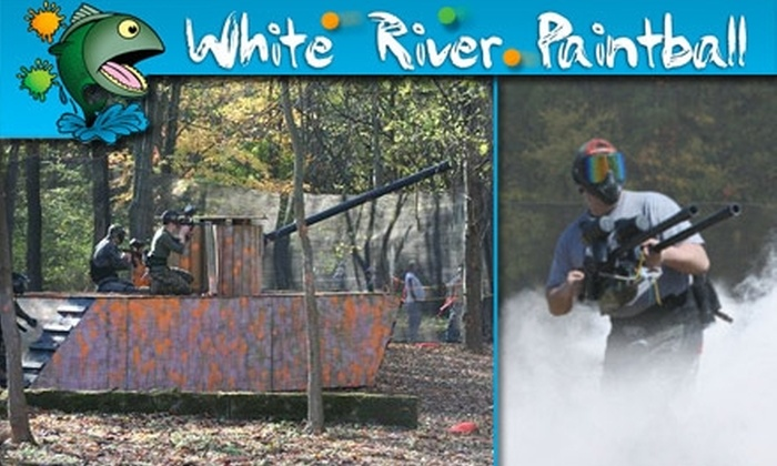 White River Paintball - Adams: $10 for Open Play, Equipment, and Paintballs at White River Paintball