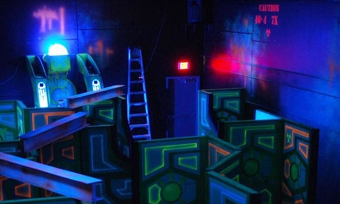 Wazee's World - Peoria: $10 for Four Games of Laser Tag or Cosmic Golf at Wazee's World in Peoria