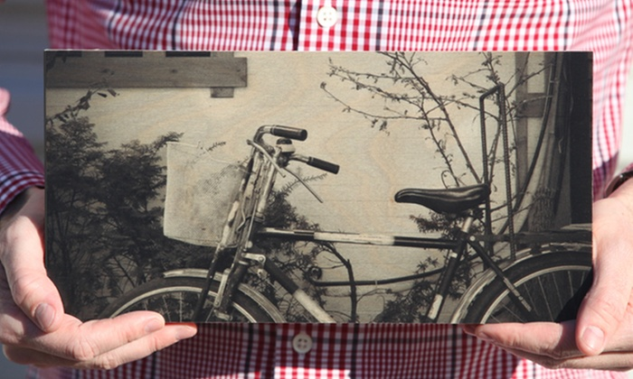 Prints on Wood: One Small, Medium, or Large Photo WoodPrint from Prints on Wood (Up to 55% Off)