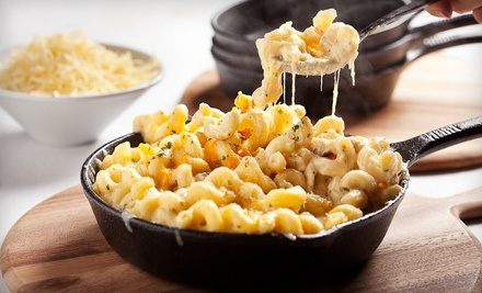 Mac 'n' Cheese Dinner for 4 (up to a $43 total value) - The Mac Shack in Vancouver