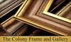 The Colony Frame and Gallery - Amarillo: $45 for $100 Toward Custom Framing at The Colony Frame & Gallery
