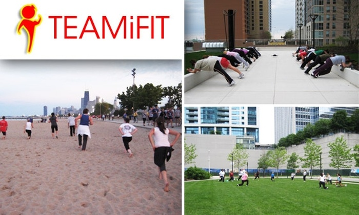 TEAMiFIT - Near North Side: Unlimited Summer Classes & 12 Fall Classes at TEAMiFIT