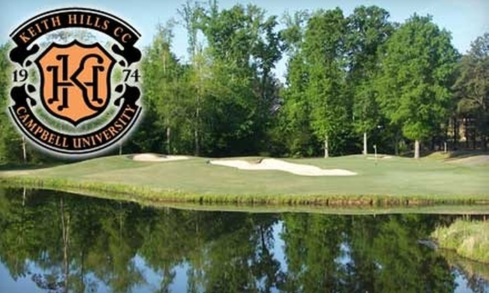Keith Hills Golf Club - Neills Creek: 18 Holes of Golf Including a Cart at Keith Hills Golf Club. Choose from Two Options.
