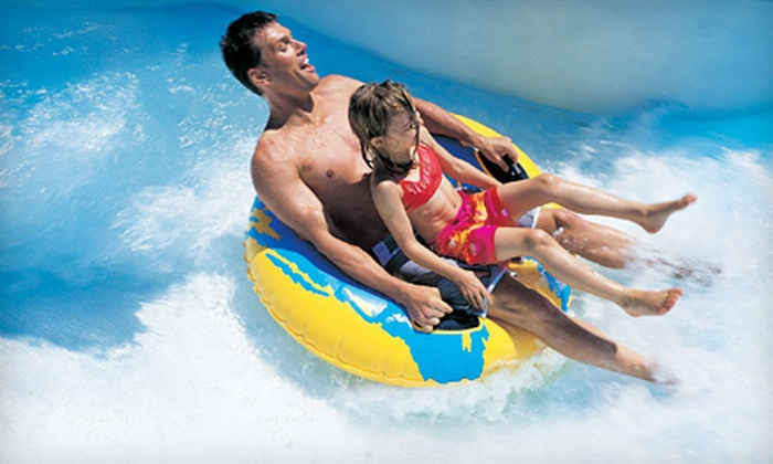 Splash Zone  - Wildwood: Memorial Day Park Package for Four, or All-Day Park Outing for One or Four at Splash Zone in Wildwood (Up to 70% Off)