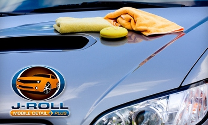 J-ROLL Mobile Detail Plus - Boise: $75 for Ultimate Detail With Oil Change ($150 Value) or $40 for Basic Detail ($80 Value) From J-ROLL Mobile Detail Plus