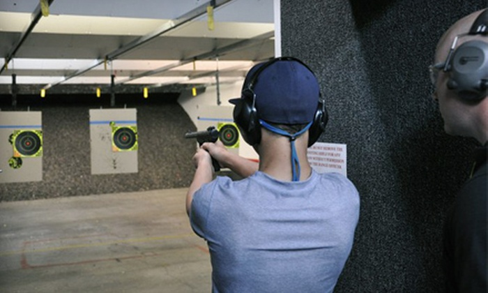 The Shooter's Depot - Hickory Valley - Hamilton Place: One-Hour Shooting-Range Outing with Gun Rental, Ammo, and Targets for Two or Four at The Shooter's Depot (Half Off)