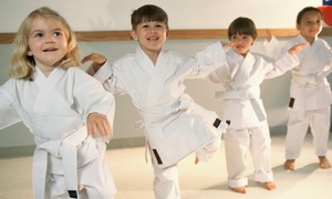 No Joke Mixed Martial Arts: One or Three Months of Kid's Martial Arts or Little Kickers Classes at No Joke Martial Arts (Up to 79% Off)