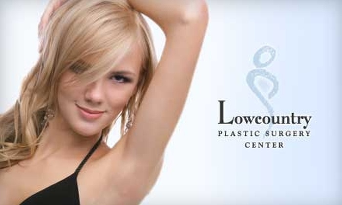 Lowcountry Plastic Surgery Center - Mount Pleasant: $150 for Three Laser Hair Removal Sessions at Lowcountry Plastic Surgery Center (Up to $3300 Value)