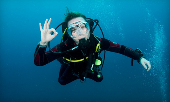 Carolina Dive Center - Northeast Raleigh: $225 for an Open Water Scuba-Certification and Boat-Diving Class Package at Carolina Dive Center ($454 Value)