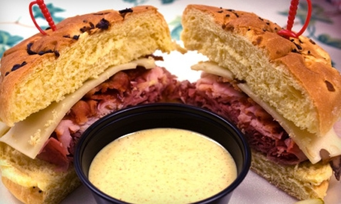 Carolina Deli - North Columbia: $7 for $15 Worth of Sandwiches and Baked Goods at Carolina Deli (Or $50 for $100 Worth of Catering Services)