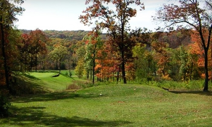 Great River Road Golf Club - Nauvoo: $249 for a Golf Getaway with Cart Rental and Lodging for Four at Great River Road Golf Club in Nauvoo ($499.80 Value)