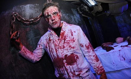 1 VIP Pass (a $35 value) - The Massacre Haunted House in Naperville