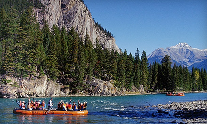 Rocky Mountain Raft Tours - Banff: One or Two Youth Tickets to One-Hour Raft Tour from Rocky Mountain Raft Tours in Banff (Up to 63% Off)