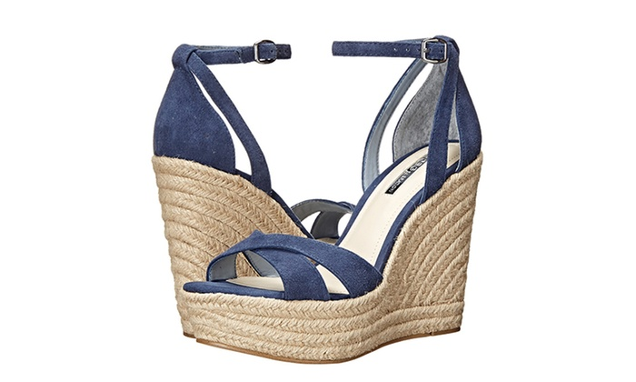 BCBGeneration Haven and Holly Women's Wedge Sandals (Size 10)