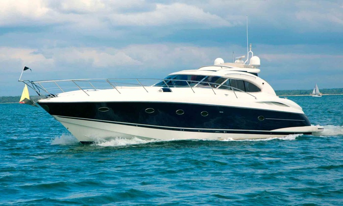 Yachts of America - South Pointe: Two-, Three-, or Six-Night Stay on a Luxury Yacht for Up to Six from Yachts of America (Half Off)