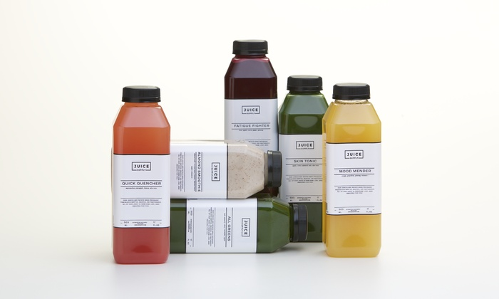 Juice Supply - Dalla: $10 for Two Smoothies or Juices at Juice Supply (Up to $17.90 Value)