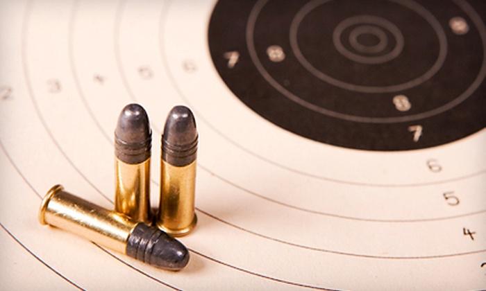 Bear Arms Shooting Range - Brevard: Shooting-Range Outings at Bear Arms Shooting Range in Brevard (Up to 67% Off). Four Options Available.