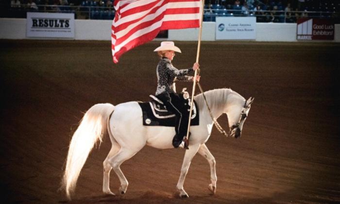 Arabian Horse Association - North Scottsdale: Scottsdale Arabian Horse Show for Two or Four from the Arabian Horse Association (Up to 53% Off)