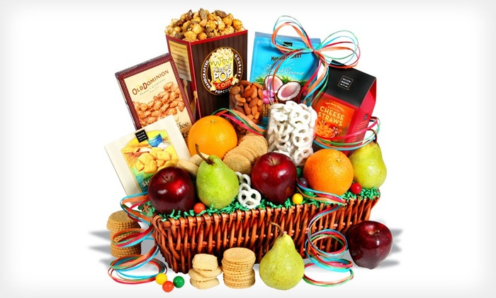 Gourmet Gift Baskets: Gourmet Gift Baskets from GourmetGiftBaskets.com. Multiple Options Available.