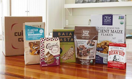 One or Three Months of Artisan, Vegan, or Gluten-Free Food Delivery from Cuisine Cube (Up to 38% Off)