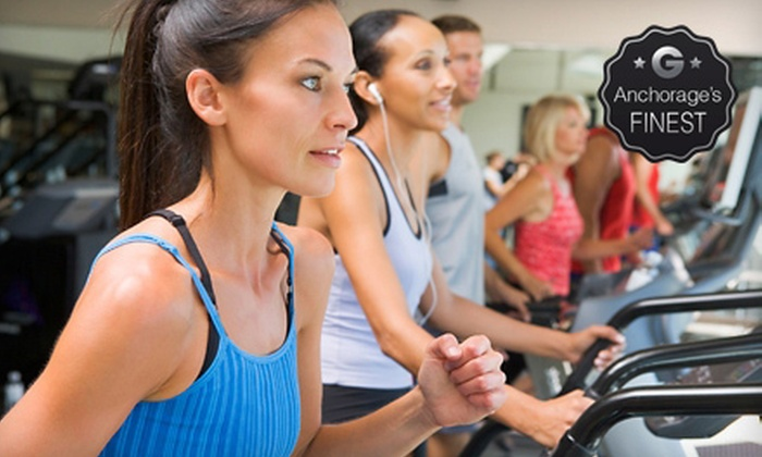 The Anchorage Athletic Club - Downtown: 30 Classes or Visits at The Anchorage Athletic Club (Up to 85% Off)