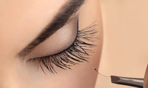 Ahsieks Beauty: Set of Semi-Permanent Individual Eyelash Extensions at Ahsieks Beauty