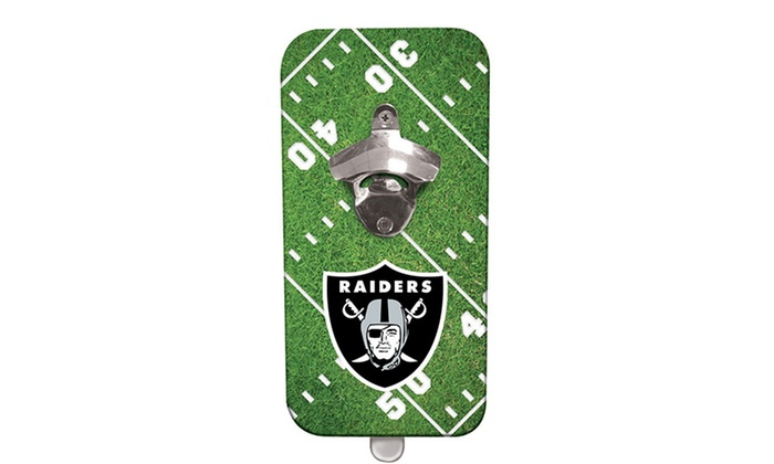 Nfl Clink N Drink Magnetic Bottle Openers Groupon