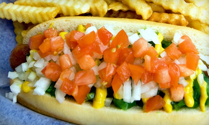 Bulldogs Gourmet - Blue Springs: $7 for $15 Worth of Hot Dogs and Frozen Custard at Bulldogs Gourmet