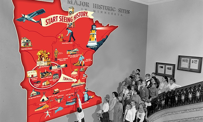 Minnesota Historical Society - Multiple Locations: Individual Plus or Household Plus Membership to Minnesota Historical Society (Up to 48% Off)