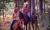 Foxhall Horseback Riding - Capps Ferry Farms: Trail Ride for One, Romantic Couples Ride, or Family Ride at Foxhall Horseback Riding in Douglasville (Up to 67% Off)