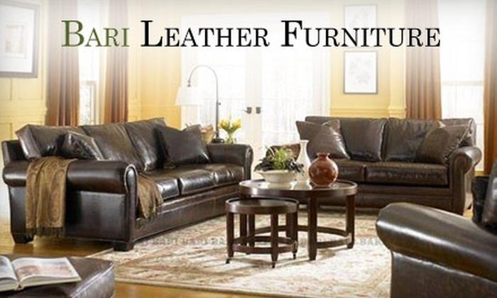 Bari Leather Furniture: $50 for $200 Worth of Furniture from Bari Leather Furniture Online