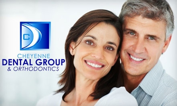 Cheyenne Dental Group - Multiple Locations: Teeth Whitening, Dental Exam, Basic Cleaning, and X-rays from Cheyenne Dental Group. Choose Between Two Options.