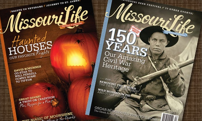"""Missouri Life"" - Columbia, MO: $10 for a One-Year Subscription to ""Missouri Life"" ($19.99 Value)"