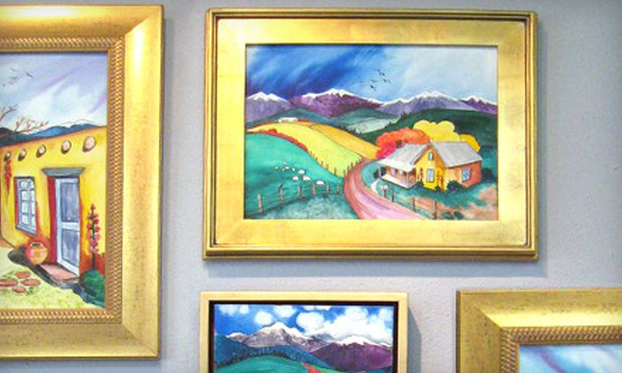 High Desert Art & Frame - Glenwood Hills: $40 for $100 Toward Custom Framing at High Desert Art & Frame