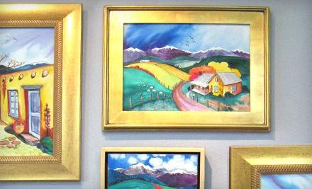 $100 Groupon to High Desert Art & Frame - High Desert Art & Frame in Albuquerque
