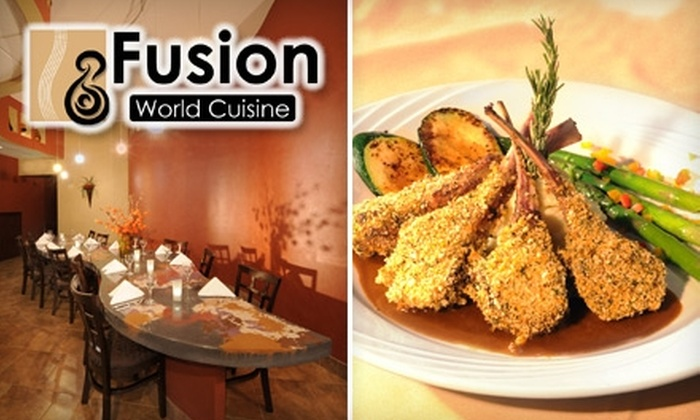 Fusion World Cuisine - Monument: $15 for $35 Worth of Asian-Influenced Fare and Drink at Fusion World Cuisine