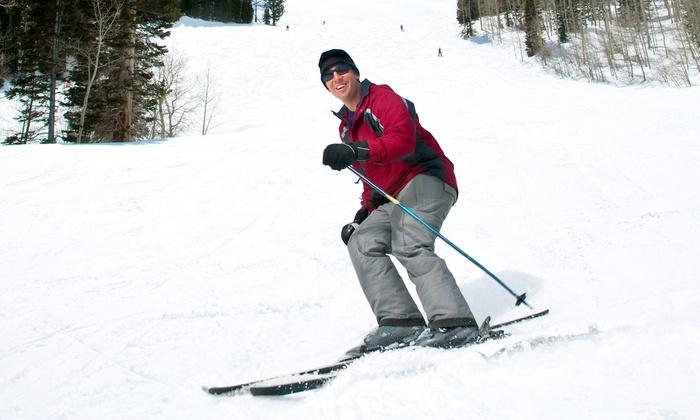 Swiss Valley Ski & Snowboard Area - Jones: All-Day Ski Pass with Optional Equipment Rental at Swiss Valley Ski & Snowboard Area (Up to 50% Off)
