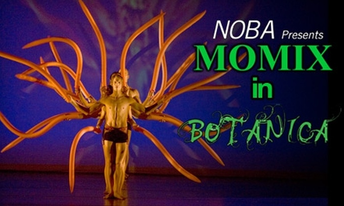 """New Orleans Ballet Association - Lower Garden District: Ticket to Momix's """"Botanica"""" Performance at the Mahalia Jackson Theater. Choose from Two Dates and Two Seating Options."""