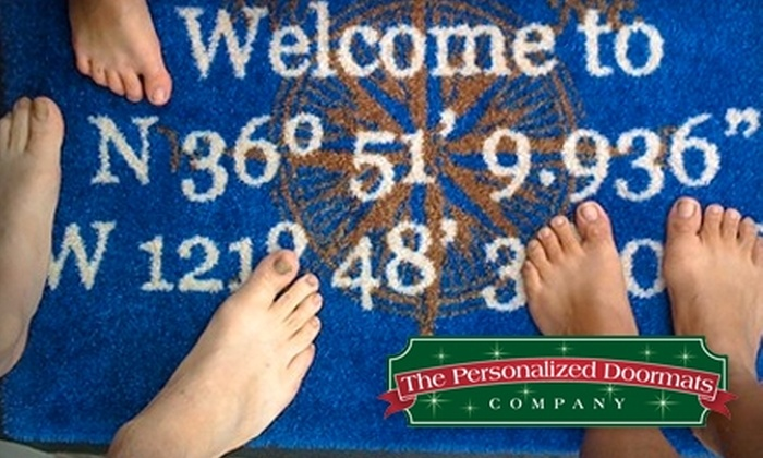 The Personalized Doormats Company: $25 for $50 of Custom Products from The Personalized Doormats Company