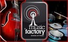 The Music Factory - Costa Mesa: $49 for Four Private Voice or Instrument Lessons at The Music Factory ($129 Value)