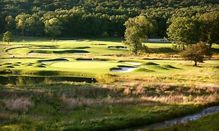 Omni Bedford Springs Resort & Spa - Bedford: $299 for Golf for Four at the Bedford Springs Old Course (Up to $630 Value) in Bedford, PA