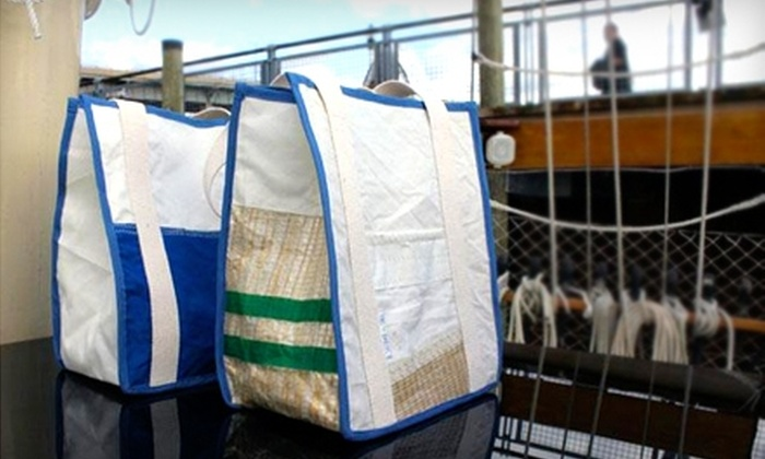 Second-Sail: Sailcloth Bags from Second-Sail. Three Styles Available.