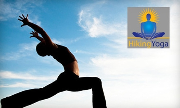 Hiking Yoga - Multiple Locations: $20 for Two Classes at Hiking Yoga